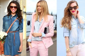 How To Wear Classic Chambray