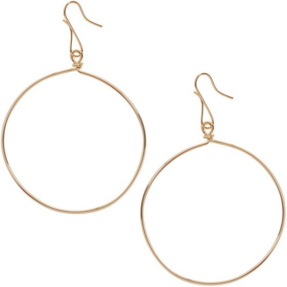 c4df0cdca Hoop Dangle Earrings for Women - Hypoallergenic Lightweight Round Thin Wire  Drop Dangles - Plated in