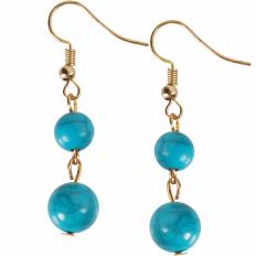 Coco Dangles - Turquoise Double Dangle