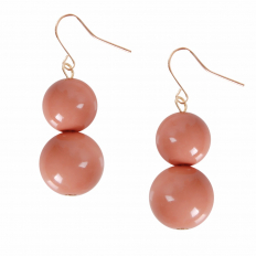 Coco Dangles - Rose Large Double Drop