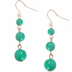 Coco Dangles - Emerald Triple Dangle