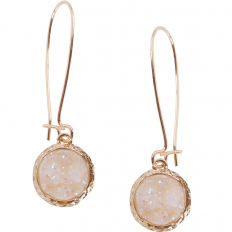 Druzy Threader Dangles - Opalescent