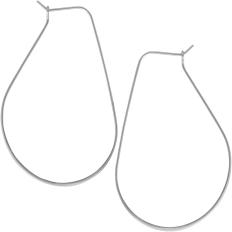 Lightweight Threader Hoops - 925 Silver Plated