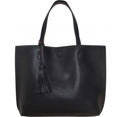 Large Tote Bag - Vegan Leather
