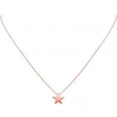 Tiny Star Delicate Necklace - Rose Gold-Tone
