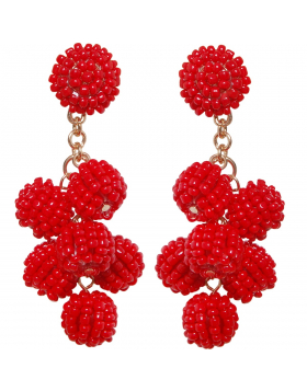 Candy Berry Cluster Dangles