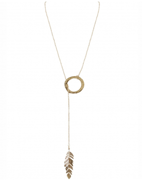 Floating Feather Lariat