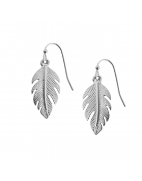 Tiny Feather Dangles