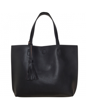 Large Tote Bag - Vegan Leather