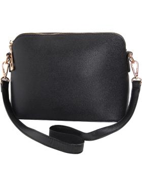 Saffiano Crossbody Handbag - Vegan Leather
